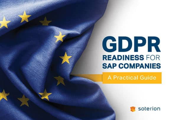 gdpr readiness for sap security